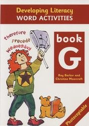Developing Literacy - Word activities - Book G - Upper Primary 4106