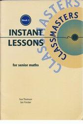 Instant Lessons for Senior Maths - Book 2 8001