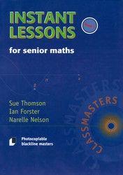Instant Lessons for Senior Maths - Book 5 8004