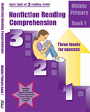 Nonfiction Reading Comprehension - Middle Primary Book 1 - 4182