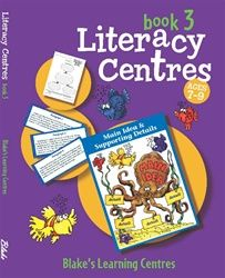 Blake's Learning Centres - Literacy Centres - Middle - Book 3 4005