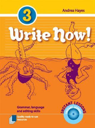 Write Now! - Grammar, Language and Editing Skills - Book 3 7192