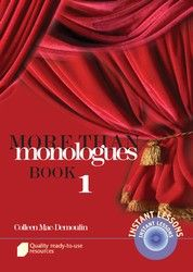More than Monologues - Book 1 9440