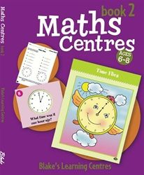 Blake's Learning Centres: Maths Centres - Book 2 5001 - BO147
