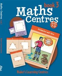 Blake's Learning Centres: Maths Centres - Book 3 5002 - BO148