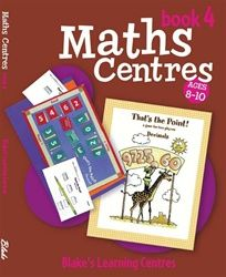 Blake's Learning Centres: Maths Centres - Book 4 5003 - BO149
