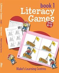 Blake's Learning Centres - Literacy Games - Book 1 4006