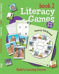 Blake's Learning Centres - Literacy Games - Book 2 4007