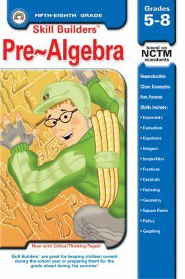 Skill Builders: Pre-Algebra Grades 5-8 - RBP0091