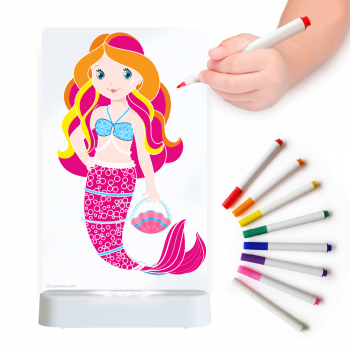 Aloka Sleepy Light: ColourMe Lamp - Mermaid