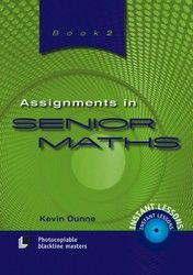 Assignments in Senior Maths - Book 2 8041