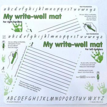 My Write-Well Mat- Slight Slant (QLD Handwriting Foundation Style)