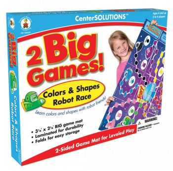 Robot Race- Colours and Shapes Board Game CD140057