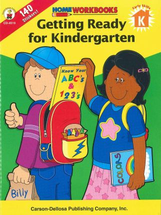 Home Workbook: Getting Ready for Kindergarten (K) CD4519
