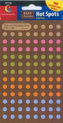 Stickers - Dots on Chocolate Dots CTP1100