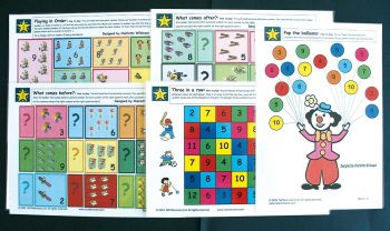 Wilkie Way: Early Numeracy Games- Set 3 Sequencing and Addition (Maori) GAWW15