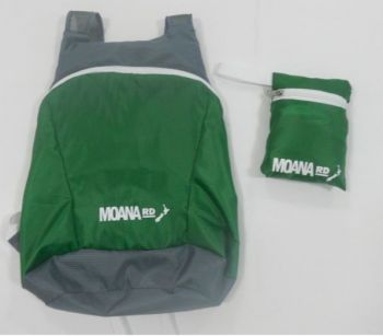 Foldable Back Pack - Green