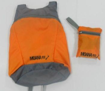 Foldable Back Pack - Orange