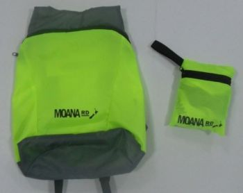 Foldable Back Pack - Yellow