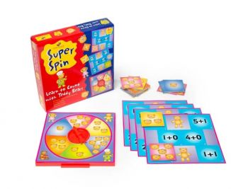 Super Spin - Learn to Count with Teddy Bears - GA203