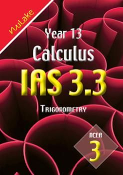 Nu Lake Year 13 NCEA Level 3 Mathematics Assessment Booklets