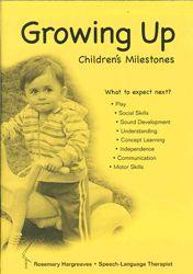 Growing Up - Children's Milestones Booklet