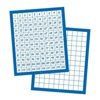 1 - 120 Number Charts (Pack of 10) KB2105/10