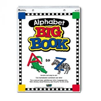 Alphabet Big Book - Flip Chart LER-7094