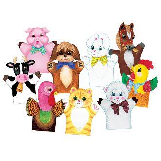 Felt Hand Puppets Combo- Set of 9