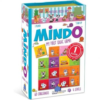 Mindo: My First Logic Game - Kitten Edition