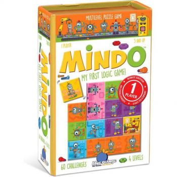 Mindo: My First Logic Game - Robot Edition