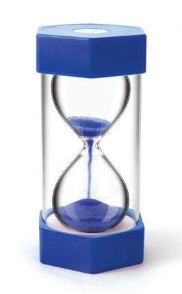 Giant Sand Timer 5 minute Blue - MW016