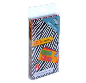 Magnetic Rummy: Zoo - Travel Game