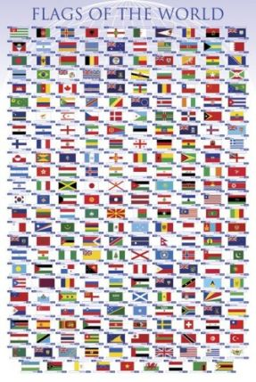 Poster: Flags of the World