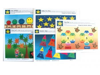 Wilkie Way: Early Numeracy Games- Set 4 5+ (Maori) GAWW16