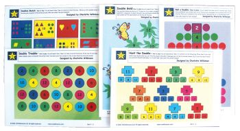 Wilkie Way: Early Numeracy Games- Set 5 Doubles (Maori) GAWW17