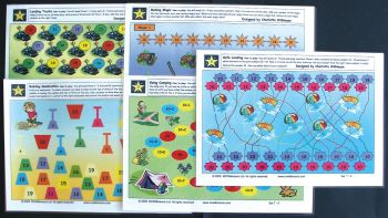 Wilkie Way: Early Numeracy Games- Set 7 10+ (Maori) GAWW19