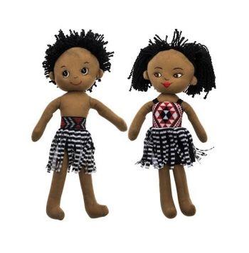 Soft Maori Dolls
