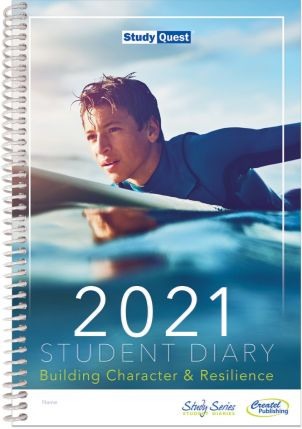 2021 Study Quest Student Diary - Years 7-12