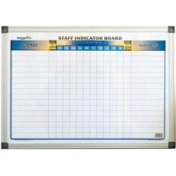 Staff Indicator Board- Magnetic