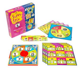 Super Spin Maths Games Set 3 - GA198