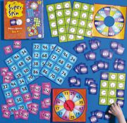 Super Spin Fun Maths Games Set 4 - GA199