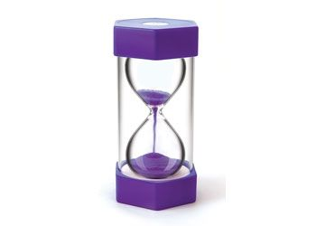 Giant Sand Timer 15 Minutes Purple - MW017
