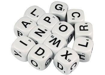 Alphabet Dice - 16mm Uppercase (13) - GA012