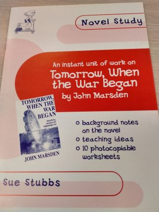 Novel Study: Tomorrow, When the War Began by Sue Stubbs
